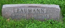 """Fredrick William """"Fritz"""" Baumann"""