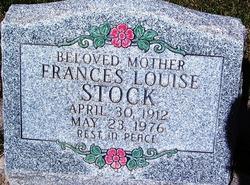 Frances Louise <I>Stock</I> Adair
