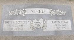 "Louise Irene ""Louie"" <I>Bennett</I> Steed"