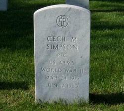 Cecil Morris Simpson