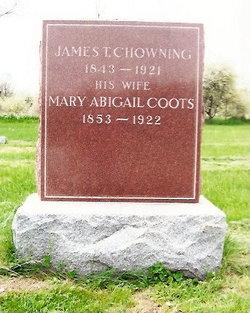 Mary Abigail <I>Coots</I> Chowning