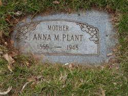 Anna Margaret <I>Frederickson</I> Plant