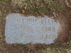 "Caroline Drew ""Carrie"" Ellis"