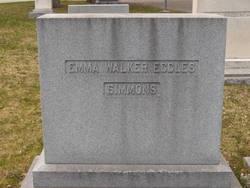 Emma Frances <I>Walker</I> Simmons