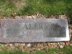 Harriet Augusta <I>Huner</I> Akers
