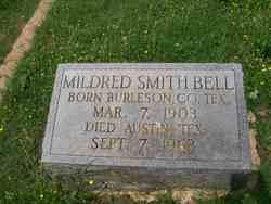 Mildred <I>Smith</I> Bell