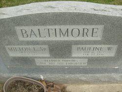 Pauline Wallace <I>Roberts</I> Baltimore