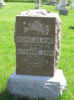 Catherine <I>Zook</I> King