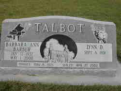 Barbara Ann Barbur Talbot