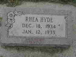 Rhea Hyde