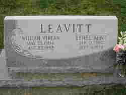 William Verlan Leavitt