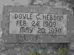 Doyle G. Hebdon