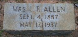 Mrs Laura Rebecca <I>Gillespie</I> Allen