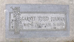 Garnet <I>Steed</I> Tolman