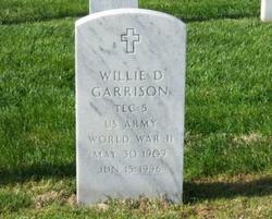 Willie D Garrison