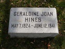 Geraldine Joan Hines