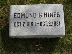 Edmund G Hines