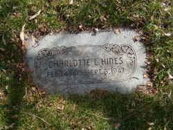 Charlotte Jane <I>L</I> Hines