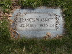 Frances W Abbott