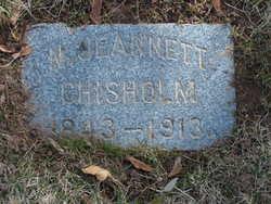 Nancy Jennette <I>Kendall</I> Chisholm