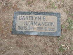 Caroline B Hermanson