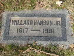 Willard Hanson, Jr