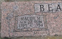 Mary Maude <I>Lucas</I> Beaty