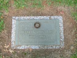 Irene <I>Sexton</I> Tate