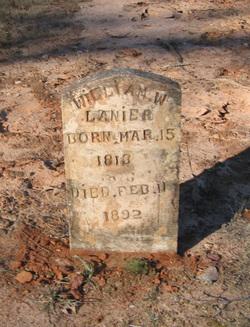 """William Washington """"Buck"""" Lanier, Sr"""