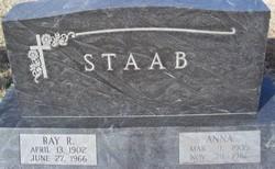 Anna <I>Staab</I> Staab