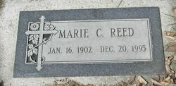 Marie C. <I>Mosher</I> Reed