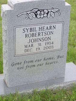 Sybil <I>Hearn Robertson</I> Johnson