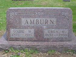 Goldie M <I>Medler</I> Amburn