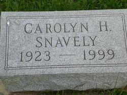Carolyn H. Snavely