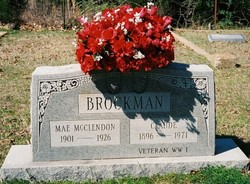 Lillian Mae <I>McClendon</I> Brockman