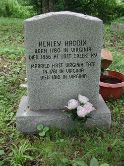 Henley Haddix, Sr