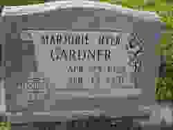 Marjorie Hyer Gardner
