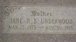 Jane Wilkie Hooper <I>Blood</I> Underwood