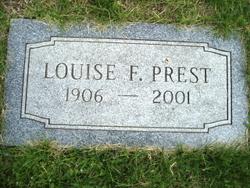 Louise <I>Becher</I> Prest