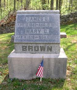 Mary C. <I>Bush</I> Brown