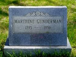Marthine <I>Miner</I> Gunderman