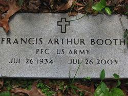 Francis Arthur Booth