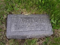 Ambrose Fisher Achenbach