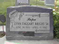 Lynn Taggart Bright Sr.