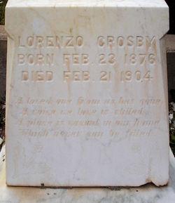 Lorenzo Crosby