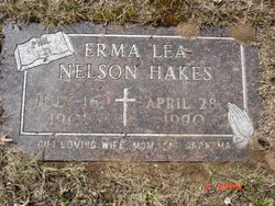 Erma Lea <I>Nelson</I> Hakes