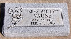 Laura Mae <I>Lott</I> Vause