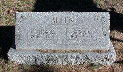 Emma C. <I>Bullock</I> Allen