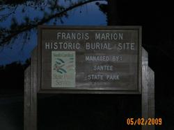 Site of Francis Marion Tomb