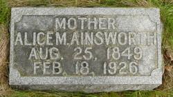 "Alice M. ""Allie"" <I>Laub</I> Ainsworth"